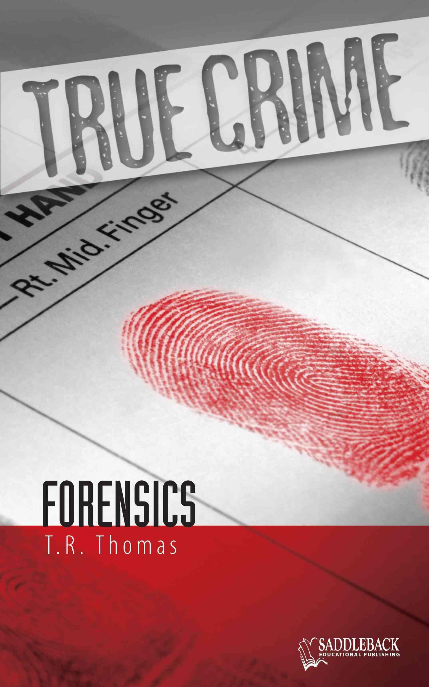 Forensics By Thomas, T. R.